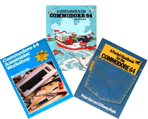 three new book scans for commodore 64 vintage is the new