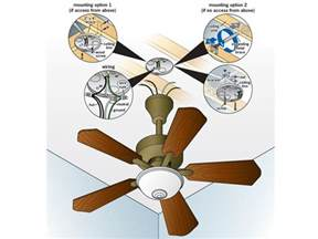 Installing Ceiling Fan Wiring How To Replace A Light Fixture With A Ceiling Fan How