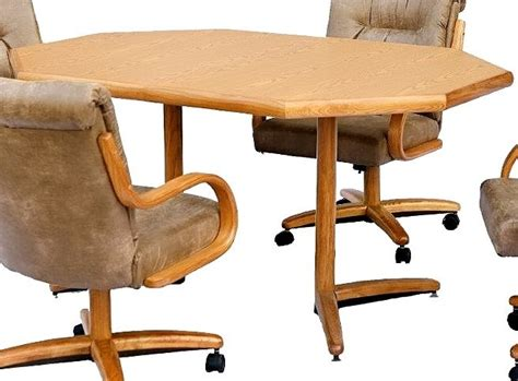 chromcraft table and chairs chromcraft furniture t154 456 clipped corner dinette table