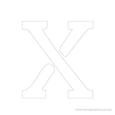 free printable letter stencils 6 inch printable 6 inch letter stencils a z free printable stencils