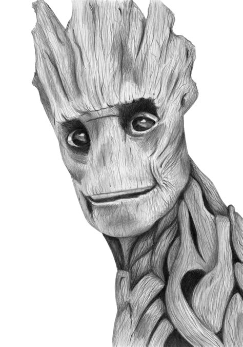 I M Drawing In by I Am Groot By Kresli On Deviantart