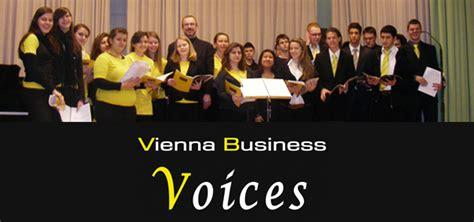 Vieanna Mba by Vienna Business School Akademiestrasse Chor Vienna