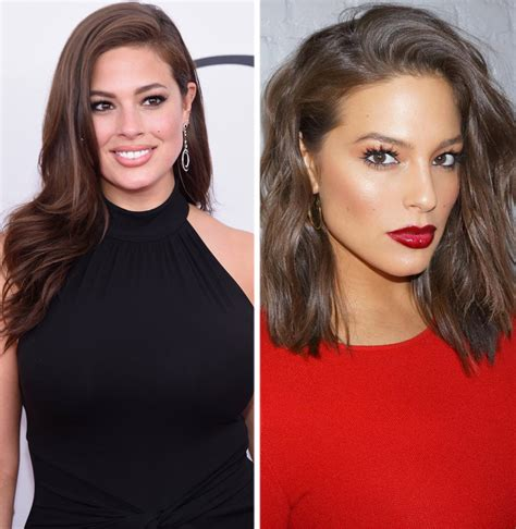 how does the long bob look ashley graham debuts long bob see her edgy new look
