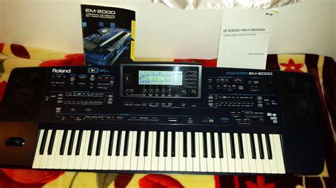 Keyboard Roland Em 2000 em 2000 roland em 2000 audiofanzine
