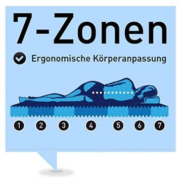 7 zonen matratze test ravensberger orthop 228 dische matratze test erfahrungen