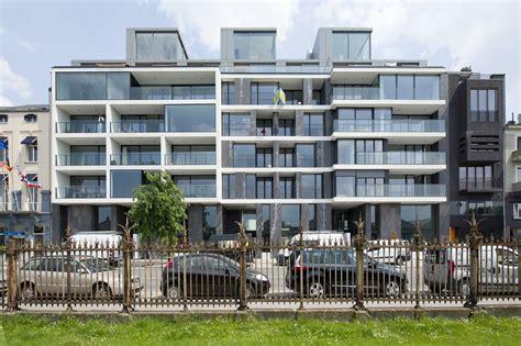 apartment design archdaily apartments jordaenskaai antwerp crepain binst