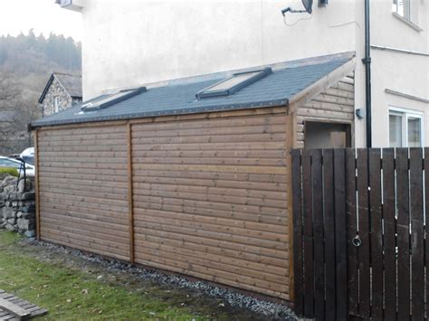 side house shed shed lean to with 2 doors and skylights perfect for