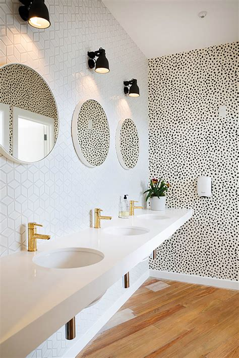 bathroom wallpaper nz 3 powder rooms that will make you a wallpaper believer