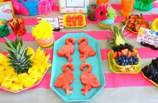Cool Flower Vases Flamingo Fiesta Food Ideas Kelly Golightly