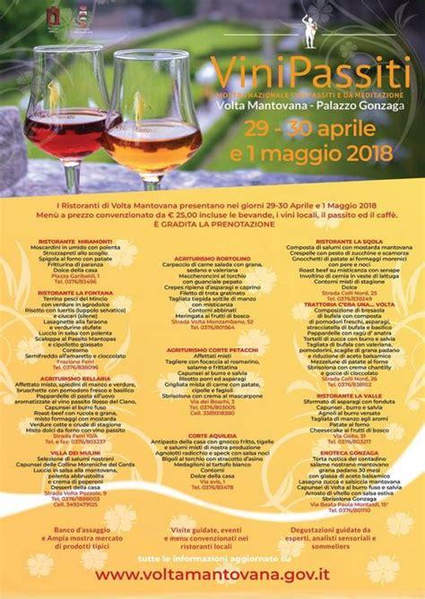 volta mantovana eventi mostra nazionale dei vini passiti e da meditazione volta