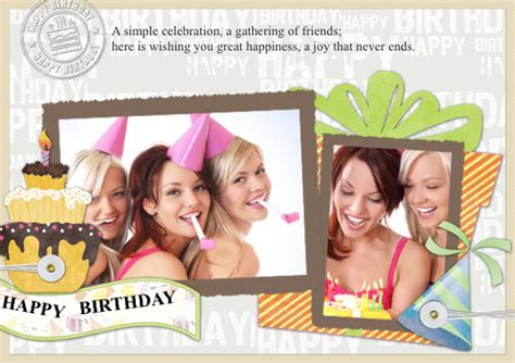 Photo Collage Greeting Card Template by Greeting Card Sles Templates Photo Greeting Cards