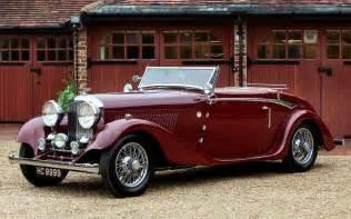 Vintage Bentleys 1934 Bentley Drophead Coupe Antique Cars Bentley