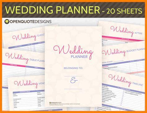 wedding planner guide free printable wedding planning guides free printable wedding ideas