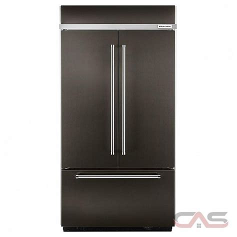 kitchenaid counter depth refrigerator canada kitchenaid kbfn502ebs refrigerator canada best price