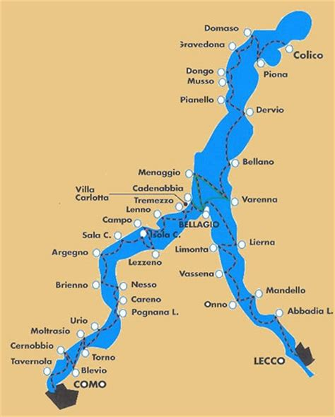 lake como italy map images of italy living on lake como part 1