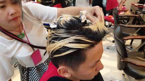 tutorial ombre rambut tanpa bleaching tutorial cara mewarnai rambut cowok youtube