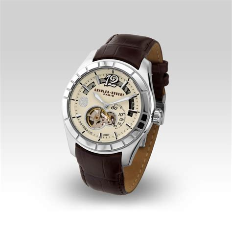 Charles Delon Cdm1001 Brown Water Resistant x0237 040f l amour gents collection official charles hubert website