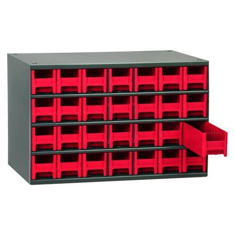 Parts Storage Cabinet Akro Mils 19228 28 Drawer Steel Parts Storage Hardware And Craft Cabinet Grey