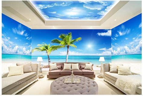 Sale Wallpaper Dinding Motif Flowers Ungu Keren custom photo wallpaper large 3d sofa tv background
