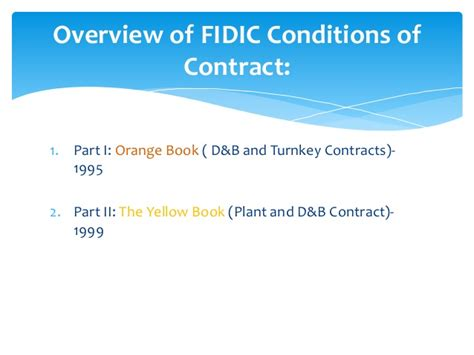 design and build contract sum analysis fidic
