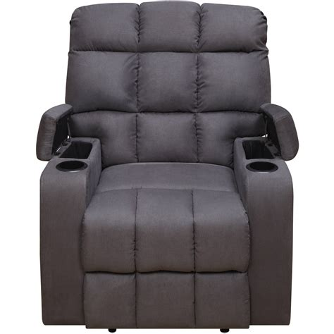 single recliner with cup holder recliner cup holder thad double reclining console