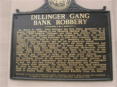 dillinger bank robber dillinger bank robbery south dakota historical