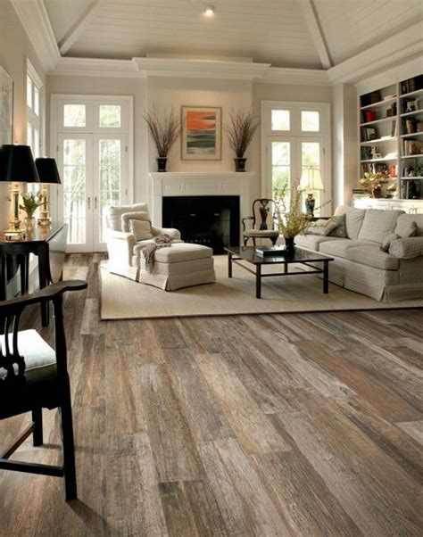 wood tile flooring in living room amazing tile floors living room pinterest floors ceilings and