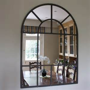 wall decorative mirrors metal arch mirror by decorative mirrors