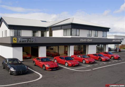 ferrari showroom charles hurst unveils new ferrari showroom in belfast