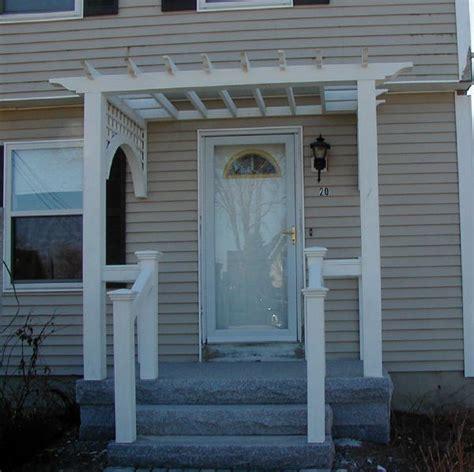 front door pergola facade lift field notes