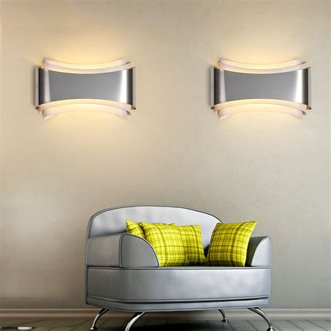 lights for bedroom walls quot warp quot accent wall sconce modern place