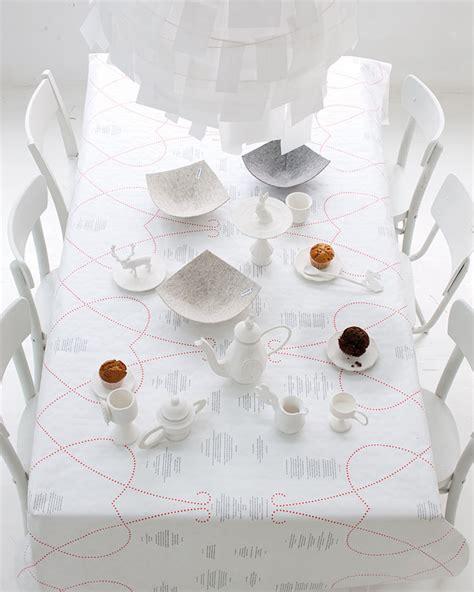 papier tafel 5 woonidee 235 n met vilt en papier vtwonen