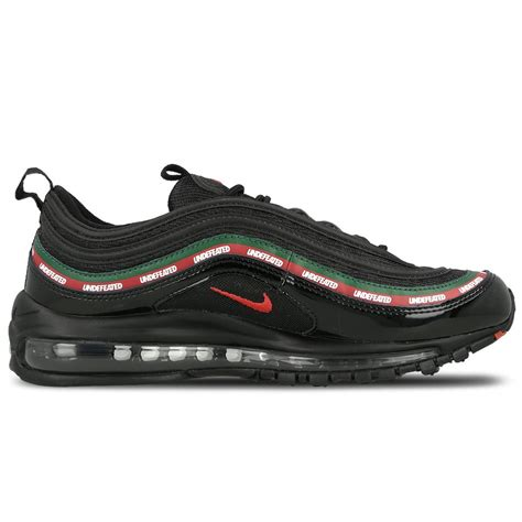 Undftd X Nike Air Max 97 Black undefeated x nike air max 97 og black