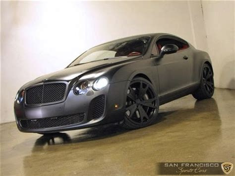 mayweather bentley mayweather s matte black bentley continental supersports