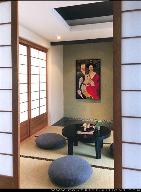 washitsu room washitsu modern japanese room asian living room denver by concrete visions llc