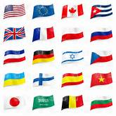 of world flag icons, 6745, Signs, Symbols, Maps, download Royalty free ...