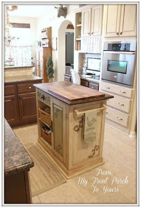 hand painted kitchen islands french farmhouse diy kitchen makeover