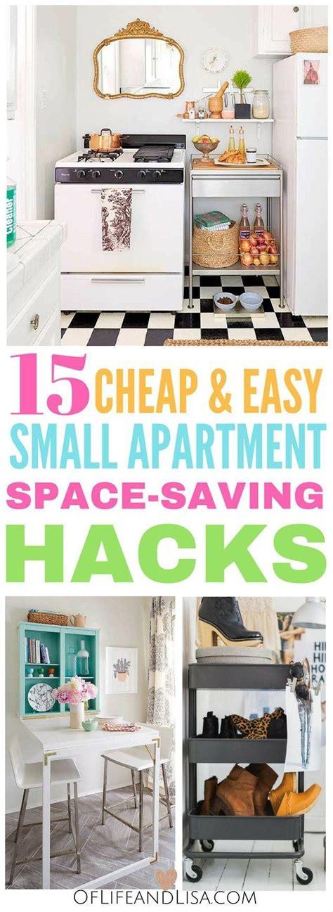 Apartment Organization Hacks Best 25 Small Apartment Hacks Ideas On Small