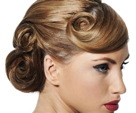 pin up hair styles for relaxed hair love a 40 s hairstyle