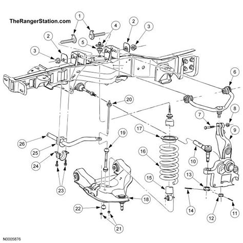 1996 ford ranger front suspension diagram heater hose diagram for 1996 chevy camaro heater free