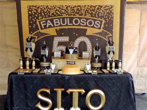 Black And Gold 50th Birthday Decorations by Kara S Ideas Fabulous 50th Black Gold Birthday