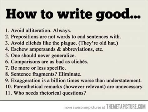 important writing tips the meta picture
