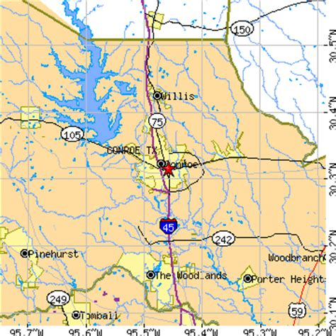 conroe texas zip code map conroe texas tx population data races housing economy