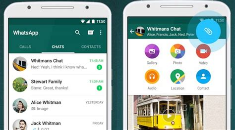 whatsapp for android whatsapp update brings starred messages rich preview to android the indian express