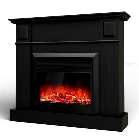 Electric Mantel Fireplace Heater by Grace Mantel Electric Fireplace Heater Black 1600w Buy