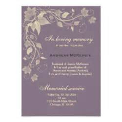 in memoriam cards in memoriam card templates postage