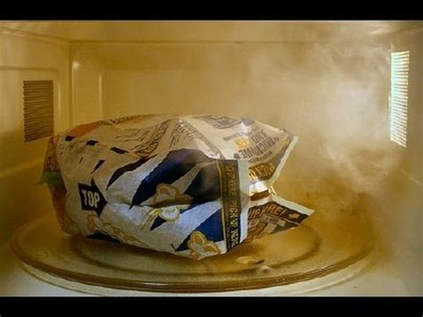perfect microwave popcorn   burnt bags youtube