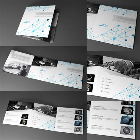 indesign trifold brochure 20x20cm indd cs6 and indl free
