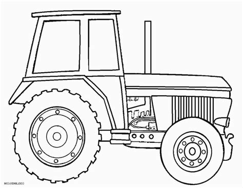 Coloring Page Tractor by Deere Farm Tractor Coloring Page Coloring Pages