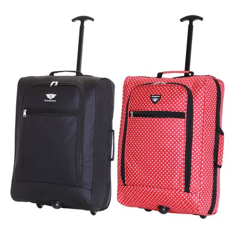 Best Cabin Bag For Easyjet by Ryanair Easyjet Flybe Set Of 2 Cabin Approved Trolley